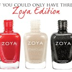 If you could only have three favourite zoya nail polishes