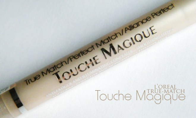l'oreal true match touche magique concealer review