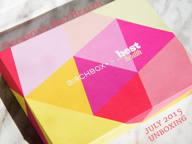 Birchbox Best Health July 2015 Unboxing & Review