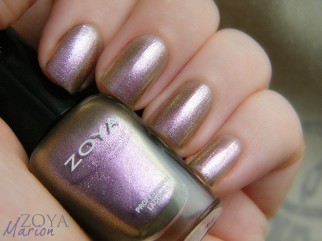 Zoya Mystery Mini Set Marion Swatches