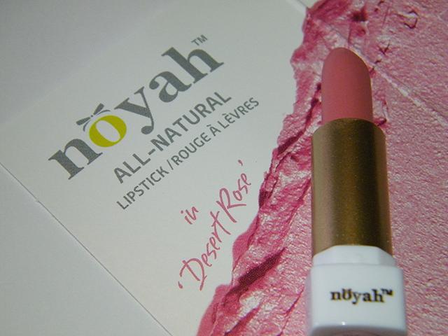 Noyah Desert Rose Lipstick Ipsy August 2015