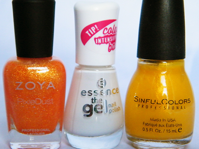 Candy Corn Halloween Nails CBBOctNails - Polishes