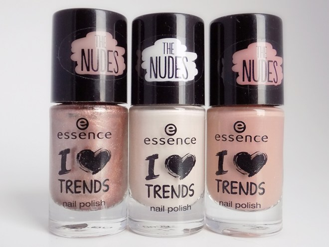 Essence Nail Polish The Nudes collection Essence Trends Editions