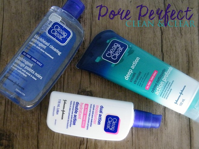 Get Pore Perfect with Clean & Clear #CleanandClearRoutines