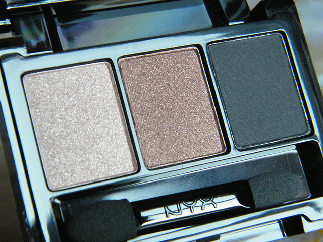 IpsyxNYX Eyeshadow Trio Colours Ipsy Sept 2015