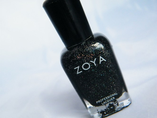 Zoya Storm Black Nail Polsh Bottle Pic CBBOCtNails Day 1