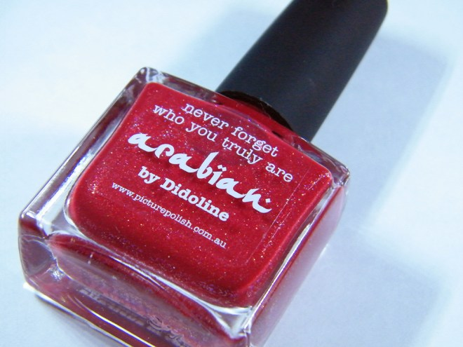 picture polish arabian npc bottle pic