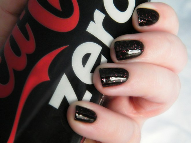 the ten spot opi coke nails