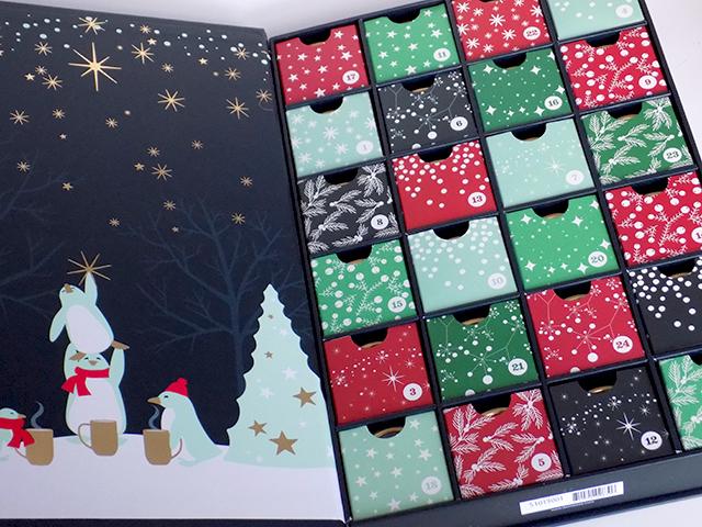 Advent Calendar DavidsTea 2015 Boxes