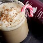 DAVIDsTEA Hot Chocolate Tea Latte Recipe with Mint Candy Cane