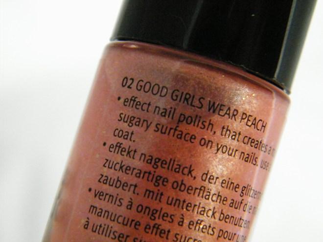 Essence Good Girl Bad Girl Good Girls Wear Peach Bottle Pic
