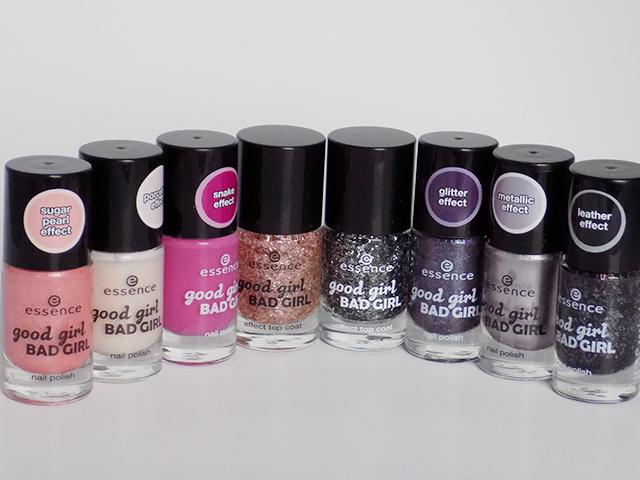 Essence Good Girl Bad Girl Nail Polish Collection