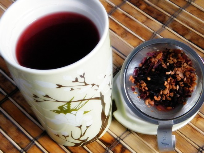 Rishi Tangerine Ginger Tea - Cup