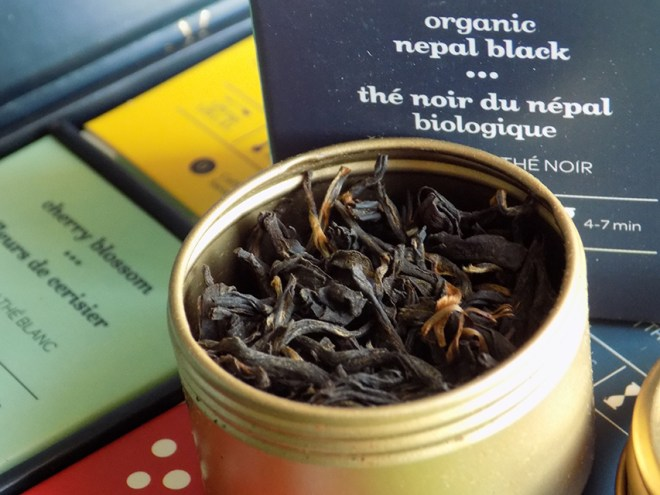 DavidsTea 24 days of tea advent calendar day 10 nepal black