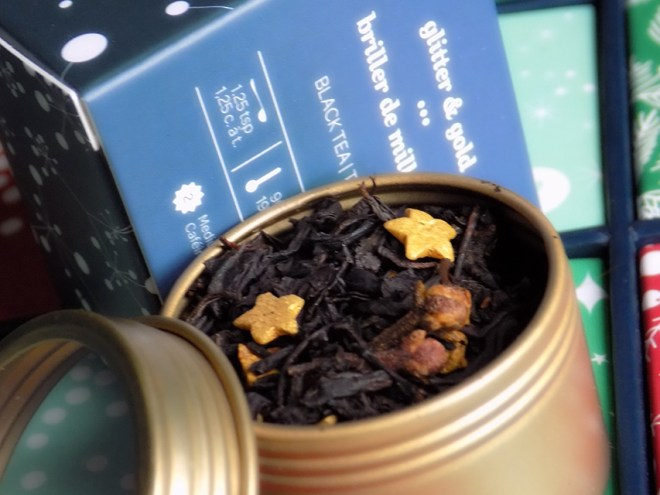 DavidsTea Advent Calendar Day 6 Glitter and Gold Tea
