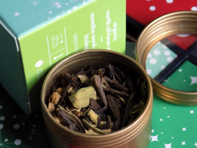 DavidsTea 24 days of tea advent calendar day 7 north african mint tea