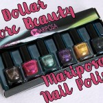 Mariposa Nail Polish Foils Dollarama Packaging