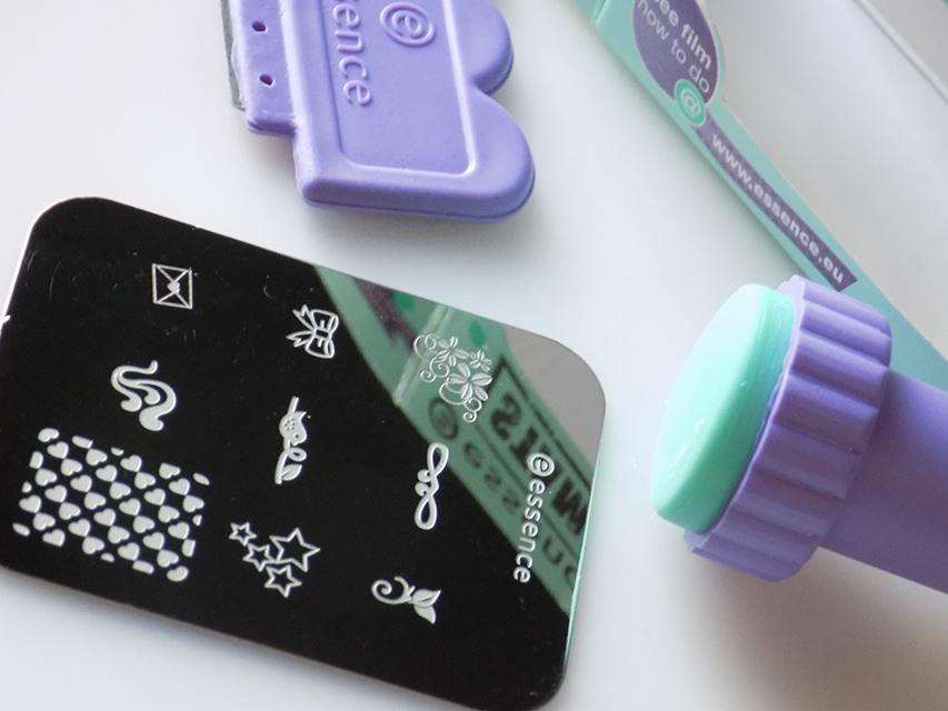 Essence Nail Art Stampy Set Tea Nail Polish
