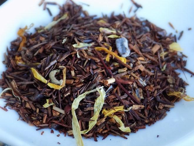Wild Heather Belgian Chocolate Rooibos Tea Review Brewed