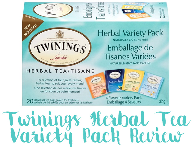 Twinings Herbal Tea Variety Review Box