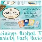 Twinings Herbal Tea Variety Review Box