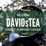 DavidsTea Sweet Almond Green Tea Review
