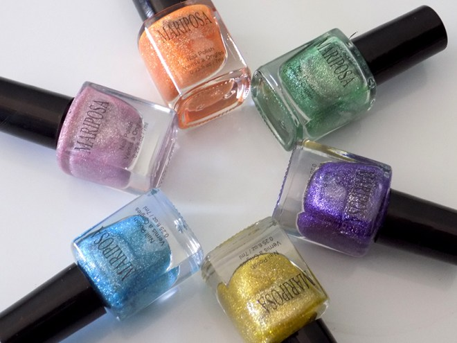 Mariposa Glitter Dollarama Nail Polishes Pixie Dust Dupe All Polishes