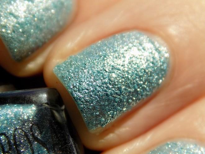 Mariposa Glitter Pixie Dust Blue Macro