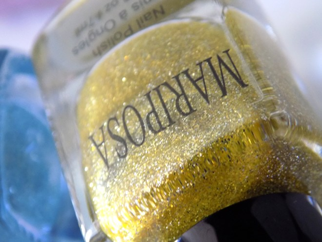 Mariposa Glitter Pixie Dust Yellow Bottle Pic