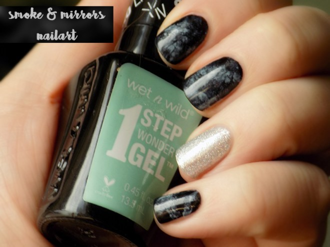 Smoke and Mirrors Nail Art - Shares