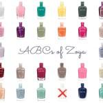 The ABCs of Zoya Nail Polish