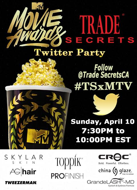 Trade Secrets MTV Awards #TSxMTV twitter party