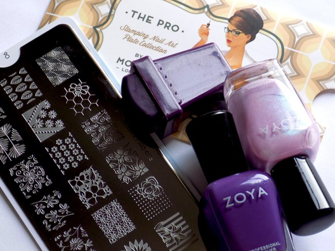 Zoya Leslie Mira Floral Nail Art supplies