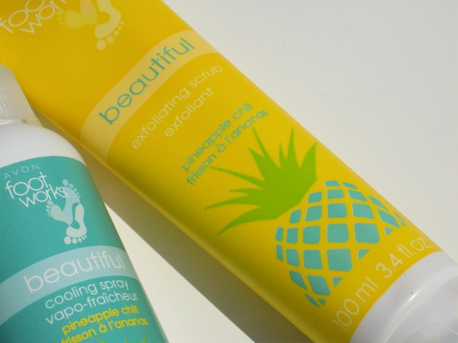 Foot Works Pineapple Chill Exfoliating Foot Scrub