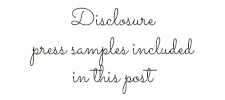 Disclosure Press Samples