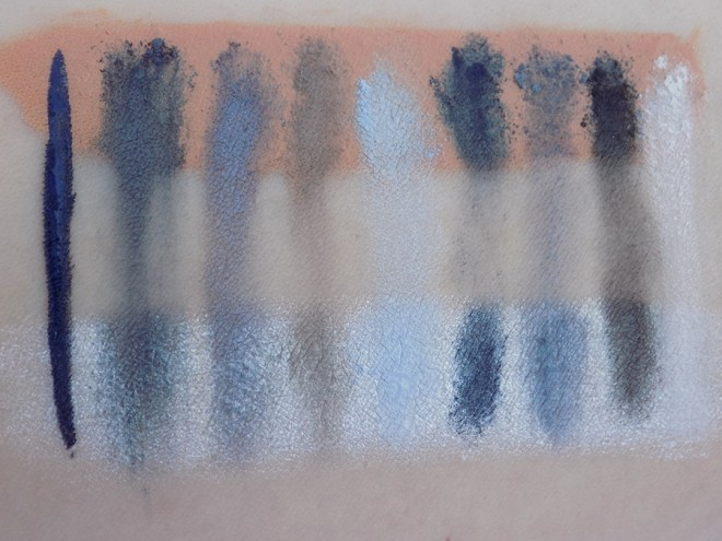 Quo Lost at Sea Eyeshadow Swatches