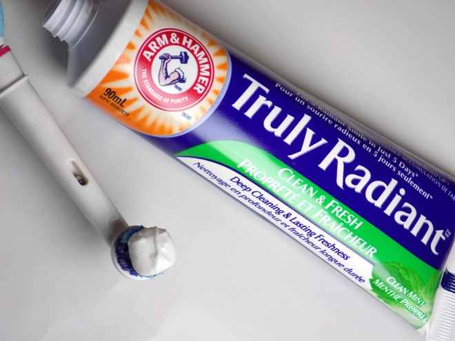 Arm & Hammer Truly Radiant Toothpaste Review