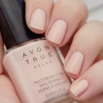 Avon True Color BB Nail Enamel Perfect Pink Swatch
