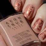 Avon True Colour BB Nailwear in Restoring Beige Swatches & Review