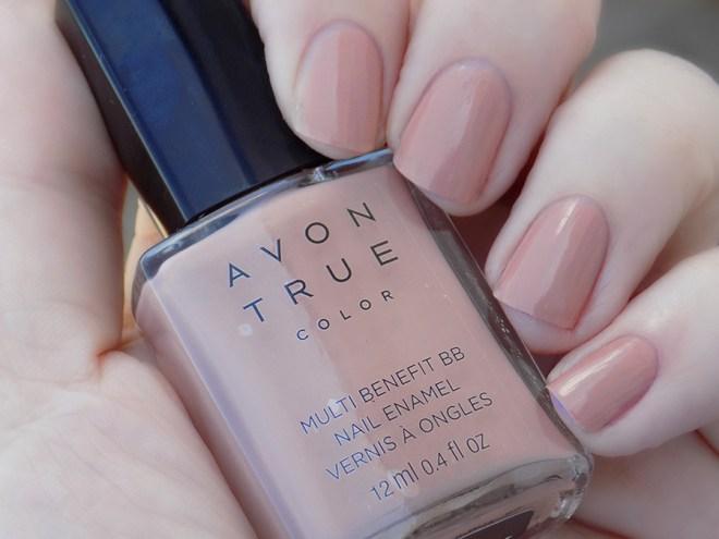 Avon True Color BB Nail Enamel Restoring Beige Swatch Shade