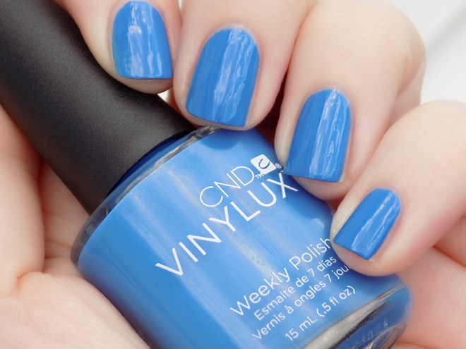 CND Vinylux Date Night Nail Polish Swatch and Review