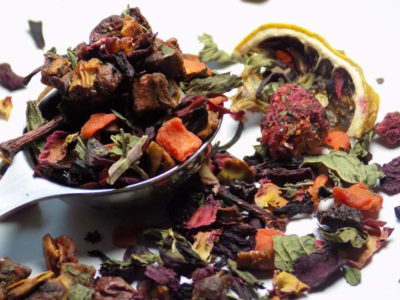 DavidsTea Raspberry Mojito Tea Loose Leaf Perfect Spoon