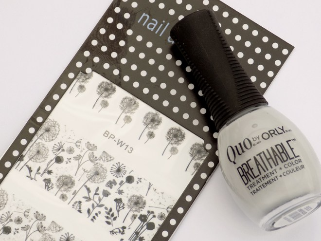Quo by Orly Breathable Power Packed - Waterslide Decals