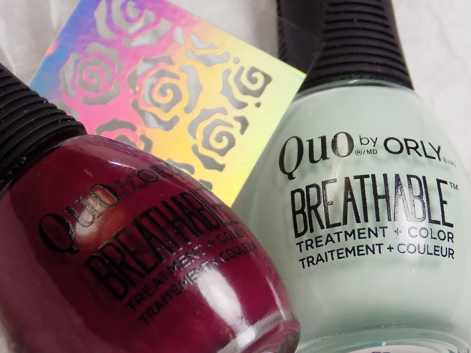 Quo by Orly Breathable The Antidote Frest Start Nail Vinyl