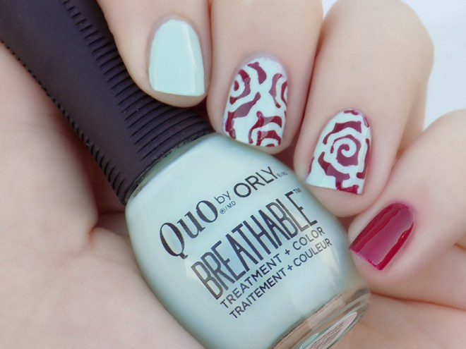 Quo by Orly Breathable The Antidote Frest Start Swatches Nail Art