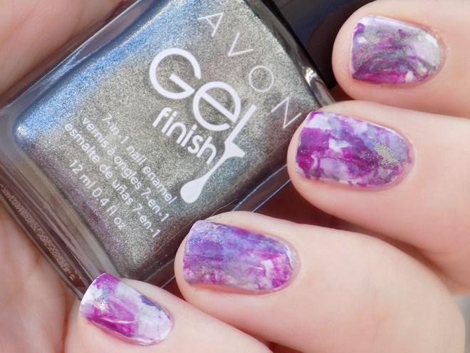 Avon Sterling - Lavender Sky - Purplicious - Swatch