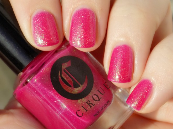 Cirque Dear Dahlia Swatch Sunlight