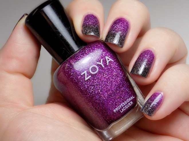 31DC2016 Gradient Nails - Zoya Aurora Storm