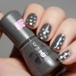 31DC2016 Polka Dots - Essence Rock My World and Mdu Silver - Swatch