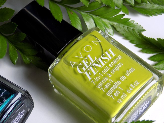 Avon Fall Trends - Gel Finish Citronized Nail Polish - Green Nail Polishes